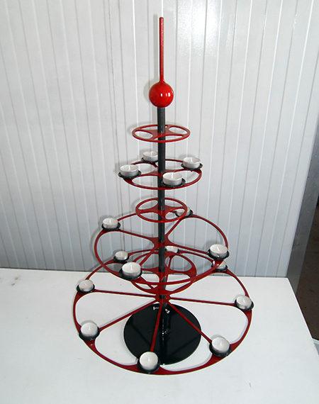 Design-Weihnachtsbäume aus Metall