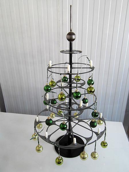 Design Weihnachtsbaum Aus Metall Eh Metallbau Munchberg