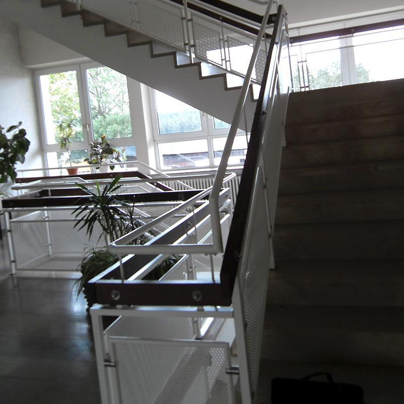 Treppenanlagen Handlauf