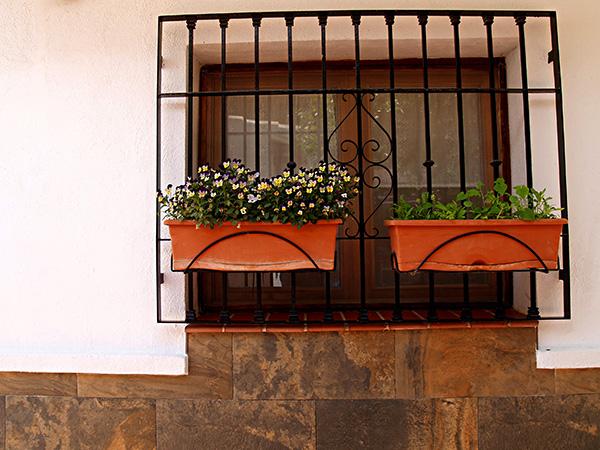 Fenstergitter-Wohnbereich