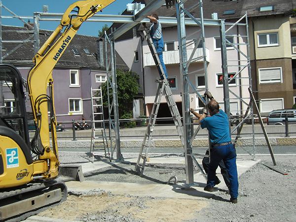 EH-Metallbau unsere Mitarbeiter