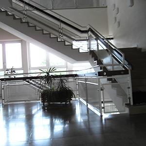 Treppenanlagen-Geländer